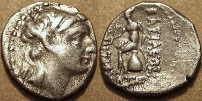 Ancient Coins - Seleucid Kingdom: Demetrios I AR drachm