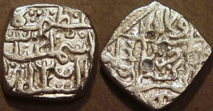 World Coins - INDIA, KASHMIR SULTANS, Isma'il Shah I (1538-40) Silver sasnu, K95. RARE!