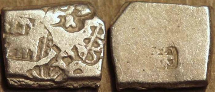 Ancient Coins - INDIA, MAURYA: Series VIb Silver punchmarked karshapana, GH 549. CHOICE!