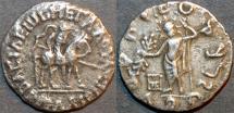 Ancient Coins - INDO-SCYTHIAN: Spalirises with Azes AR tetradrachm, SCARCE and BARGAIN-PRICED!