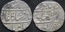 Ancient Coins - INDIA, MUGHAL, Muhammad Shah (1719-48): Silver rupee, Kora, RY 15. CHOICE!