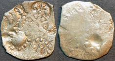 Ancient Coins - INDIA, MAGADHA: Series I AR punchmarked karshapana GH 240. RARE & BARGAIN-PRICED!