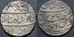 Ancient Coins - INDIA, MUGHAL, Ahmad Shah Bahadur (1748-54) AR rupee, Shahjahanabad, year 1, CHOICE!