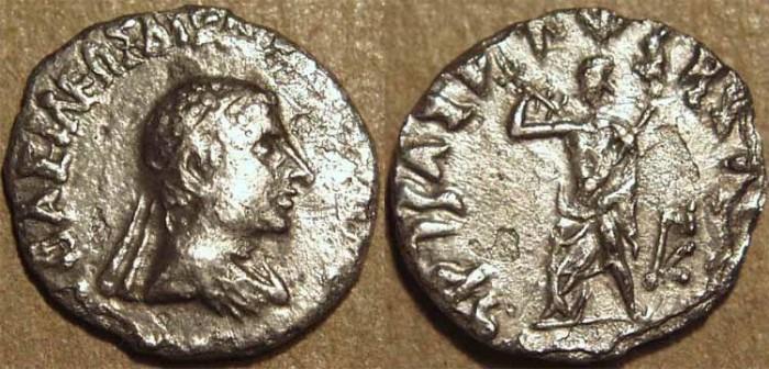 Ancient Coins - INDO-GREEK: Archebios AR drachm: diademed bust. RARE!