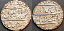 Ancient Coins - INDIA, MUGHAL, Shah Jahan (1628-58) AR rupee, Burhanpur, no date, KM 226.2, CHOICE!