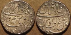 Ancient Coins - INDIA, MUGHAL, Farrukhsiyar (1713-19) AR rupee, Shahjahanabad, AH 1129, RY 6. SUPERB!