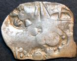 Ancient Coins - INDIA, MAGADHA: Series I AR punchmarked karshapana GH 126. RARE and CHOICE!