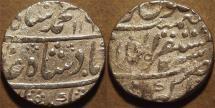Ancient Coins - INDIA, MUGHAL, Muhammad Shah (1719-48): Silver rupee, Akbarabad, RY 30, AH 1160. CHOICE!