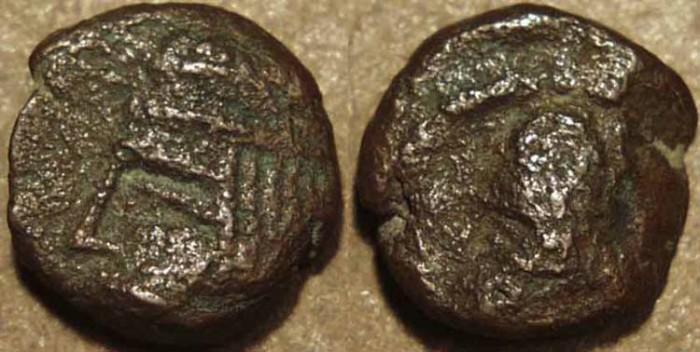Ancient Coins - PARTHIA, ARTABANOS II (10-38 CE) Copper chalkous, Ecbatana, Sell 63.18. SCARCE!