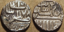 Ancient Coins -  INDIA, NAWANAGAR, Anonymous Silver kori in fine style. CHOICE!