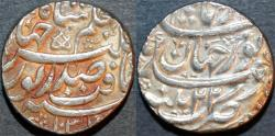 World Coins - INDIA, MUGHAL, Jahangir (1605-28) Silver rupee naming Nur Jahan, Patna, RY 22, AH 1037. SCARCE and CHOICE!
