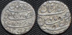 Ancient Coins - INDIA, DURRANI, Ahmad Shah (1747-72) Silver rupee, Shahjahanabad (Delhi), RY 11, AH 1170, SCARCE and CHOICE!