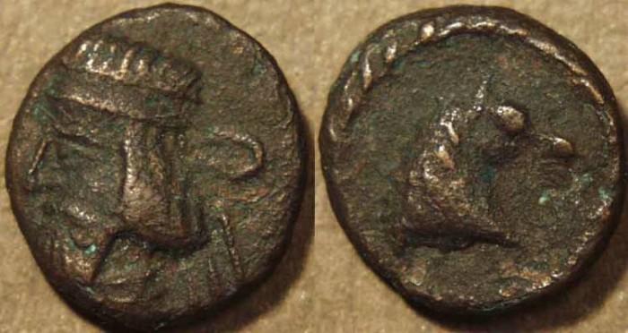 Ancient Coins - PARTHIA, ARTABANOS II (10-38 CE) Copper chalkous, Ecbatana, Sell 63.36. SCARCE & CHOICE!
