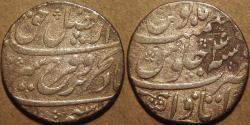 Ancient Coins - INDIA, MUGHAL, Farrukhsiyar (1713-19) AR rupee, Itawa, RY 4. CHOICE!