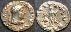 Ancient Coins - INDO-GREEK, Zoilos I Silver drachm, RARE and BARGAIN-PRICED!