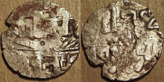 Ancient Coins - INDIA, CHERAS: Vira Kerala Silver unit. SCARCE!