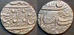 "World Coins - INDIA, SIKH, Silver ""Nanakshahi"" rupee, Amritsar, VS 1886. SCARCE and SUPERB!"
