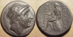 Ancient Coins - SELEUCID KINGDOM, Antiochos (Antiochus) I AR tetradrachm, Seleucia.