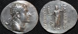 Ancient Coins - BACTRIA (BAKTRIA): Agathocles (or Agathokles) AR tetradrachm. RARE and CHOICE!