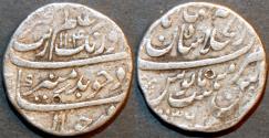 Ancient Coins - INDIA, MUGHAL, Muhyi-ud-din Muhammad Aurangzeb 'Alamgir (1658-1707) AR rupee, Shahjahanabad, AH 1104, RY 36