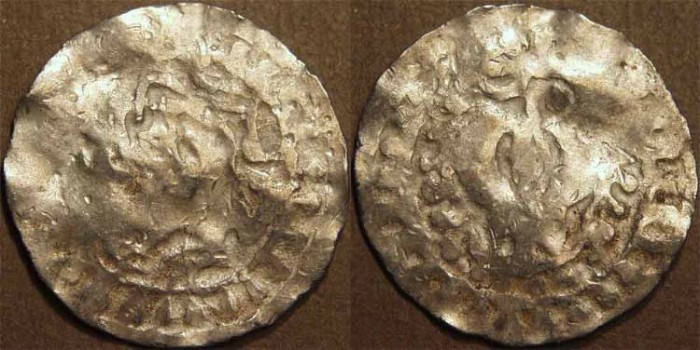 Ancient Coins - INDIA, CANDRAS of HARIKELA: Bull type Silver unit