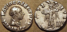 INDO-GREEK: Menander I Silver drachm, bare-headed type. CHOICE! Priced for quick sale.