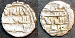 Ancient Coins - INDIA, AMIRS of SIND (HABBARIDS), 'Abdallah II Silver qanhari dirham, Shahada legend, RARE & CHOICE!