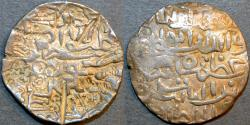 World Coins - INDIA, BENGAL SULTANATE, Ghiyath al-Din Azam (1389-1410) Silver tanka, mintless, B252. SCARCE!