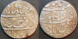 Ancient Coins - INDIA, FARRUKHABAD, Qaim Khan Bangash AR rupee ino Muhammad Shah, Farrukhabad, AH 1160, RY 30, RARE & CHOICE!