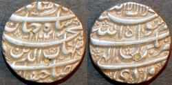 Ancient Coins - INDIA, MUGHAL, Shah Jahan (1628-58) AR rupee, Bhakkar, AH 1041, RY 5. CHOICE!