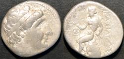 Ancient Coins - BACTRIA, SELEUCID KINGDOM, Antiochos (Antiochus) I AR tetradrachm, Ai-Khanoum. SCARCE & CHOICE!