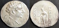 Ancient Coins - BAKTRIA (BACTRIA), Eukratides (Eucratides) II Soter AR tetradrachm, CHOICE!