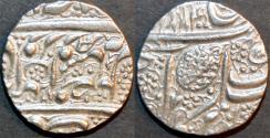 """Ancient Coins - INDIA, SIKH, Silver """"Nanakshahi"""" rupee, Amritsar, VS 1886. SCARCE and SUPERB!"""