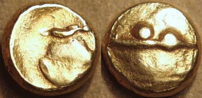 World Coins - INDIA, ADIL SHAHIS of BIJAPUR ?: Anonymous GOLD pagoda.