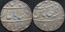 INDIA, MUGHAL, Muhammad Shah (1719-48): Silver rupee, Itawa, RY 5. CHOICE!