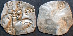 Ancient Coins - INDIA,MAGADHA: Archaic period (Series 0) Silver 20-mashas. EXTREMELY RARE and SUPERB!