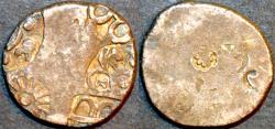 Ancient Coins - INDIA, MAGADHA: Series IVd Silver punchmarked karshapana, GH 415. CHOICE!