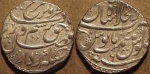 Ancient Coins - INDIA, MUGHAL, Farrukhsiyar (1713-19) AR rupee, Shahjahanabad, AH 1130, RY 6. CHOICE!