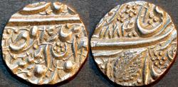 "World Coins - INDIA, SIKH, Silver ""Nanakshahi"" 1/2 rupee, Amritsar, VS 1885. VERY RARE and SUPERB!"
