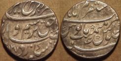 Ancient Coins - INDIA, MUGHAL, Farrukhsiyar (1713-19) AR rupee, Akbarabad, AH 1127, RY 4. CHOICE!