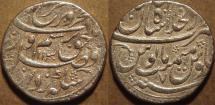 Ancient Coins - INDIA, MUGHAL, Farrukhsiyar (1713-19) AR rupee, Shahjahanabad, AH 1130, RY 7. CHOICE!