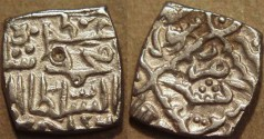 Ancient Coins - INDIA, KASHMIR SULTANS, Muhammad Shah (1484-1537, in 5 reigns) Silver sasnu, K44. SCARCE + CHOICE+!