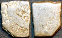 Ancient Coins - INDIA, MAURYA: Series VIb Silver punchmarked karshapana, GH 568. CHOICE!