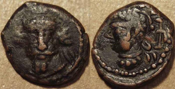 Ancient Coins - ELYMAIS, Orodes IV AE drachm