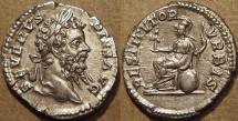 ROMAN: SEPTIMIUS SEVERUS (193-211) AR denarius, SUPERB! Priced to sell!