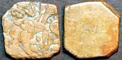 Ancient Coins - INDIA, MAURYA: Series Va punchmarked silver karshapana, GH 488, CHOICE!