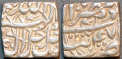 World Coins - INDIA,MUGHAL, Jalal-ud-din Muhammad Akbar (1556-1605) AR rupee, Tatta, Ilahi year 47, SUPERB!
