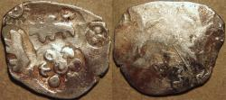 Ancient Coins - INDIA,MAGADHA: Archaic period Silver 20-mashas. EXTREMELY RARE and SUPERB!