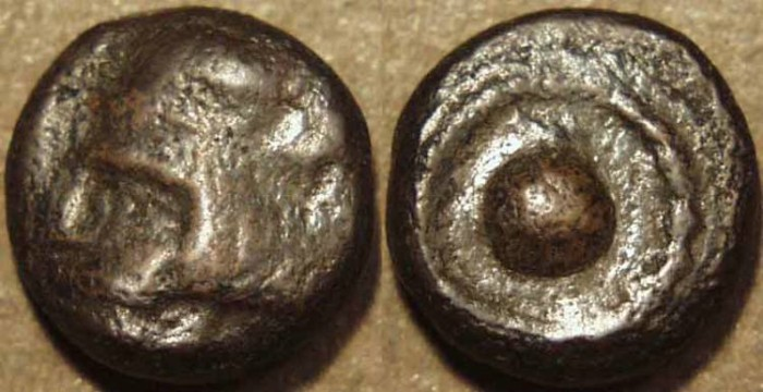 Ancient Coins - PARTHIA, ARTABANOS II (10-38 CE) Copper chalkous, Ecbatana, Sell 63.28. SCARCE & CHOICE!