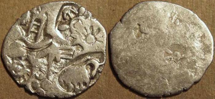 Ancient Coins - MAGADHA: Series I AR punchmarked karshapana GH 183. CHOICE!